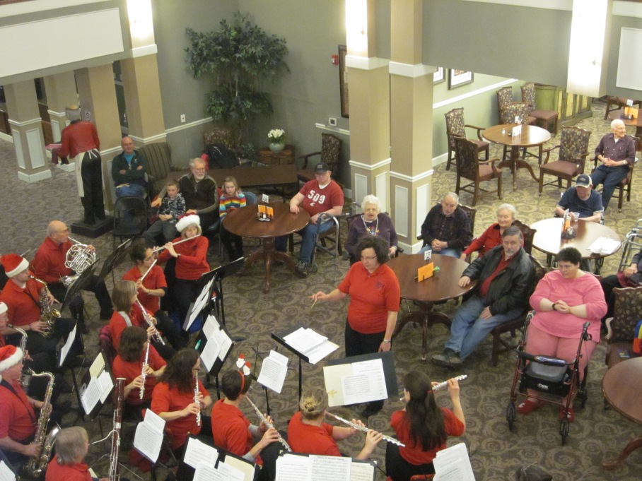 Holiday Concert at Whitman Senior Living 2012