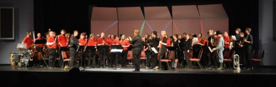 Pullman High School and CBOP in concert 2014