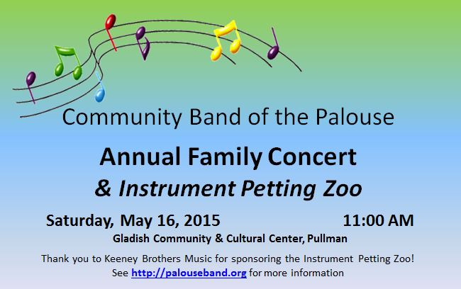 5-16-2015 Family Concert & Instrument Petting Zoo
