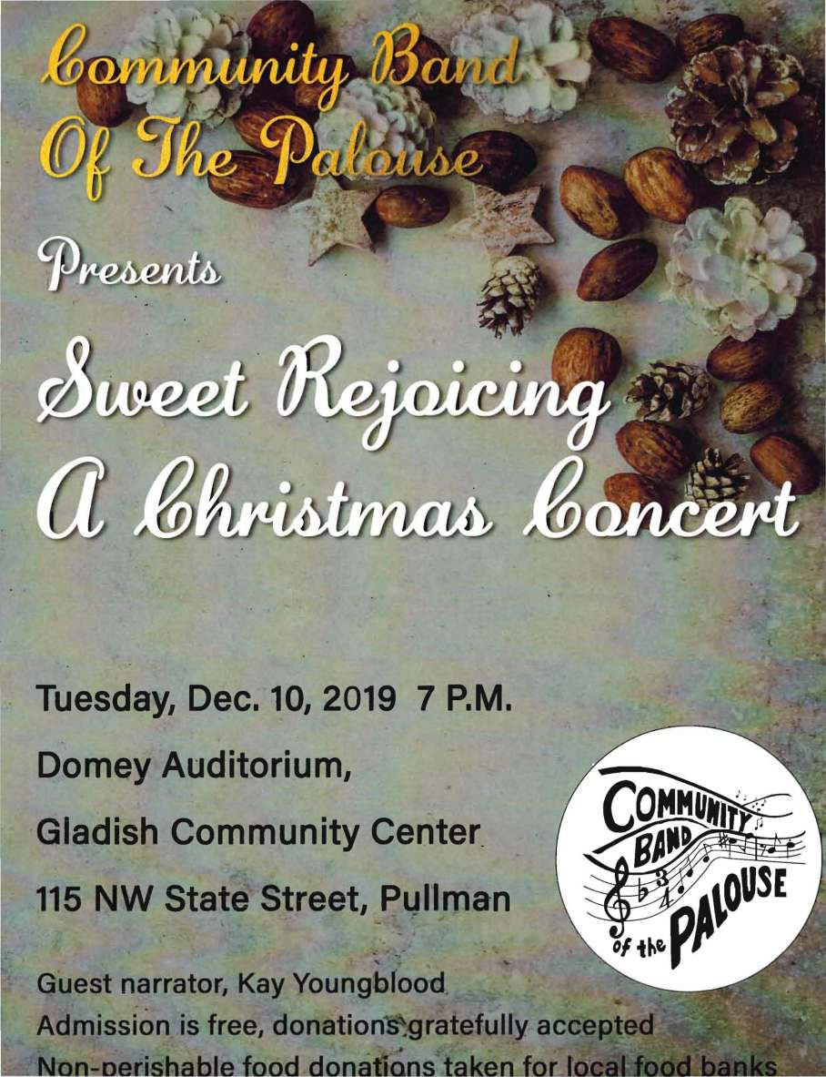 2019 Holiday Concert poster